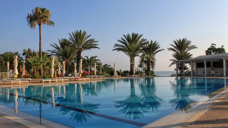 Crystal Springs Beach Hotel is an excellent option in Protaras for those wanting a room away from the crowds