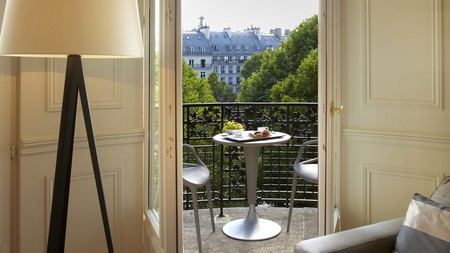 La Clef is a five-star hotel in the centre of Paris