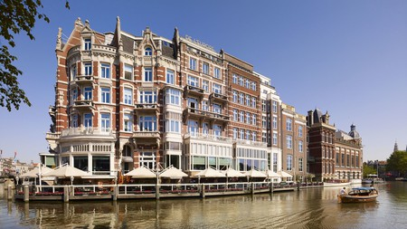 Book a hotel along Amsterdam's famous canals, the perfect location for exploring the beautiful Dutch city.