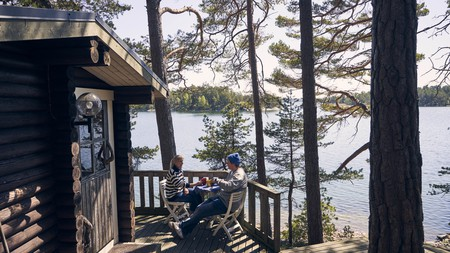 Finland is known as the land of a thousand lakes and there's no shortage of waterside fun to be had