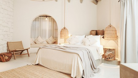 Choose a design-led stay, with upcycled or custom-made bohemian furniture