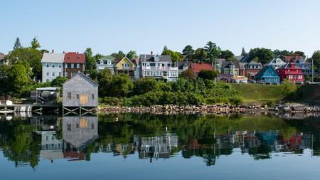 The pretty port town of Lunenburg, Nova Scotia, is a Unesco World Heritage site
