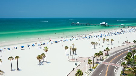 Life's a beach at Clearwater, Florida – no wonder it's called the Sunshine State
