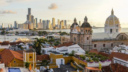 Stay at a hostel within Cartagena's charming old town