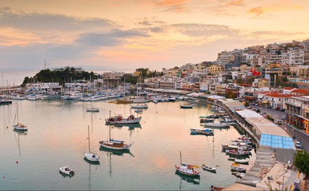 Mikrolimano is a top spot for enjoying the sunset in Piraeus
