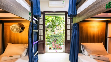 Hay Hostel sits at the heart of the action in Hanoi's atmospheric Old Quarter