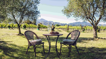 If you're looking for a romantic retreat within a working vineyard, Marlborough is the place for you