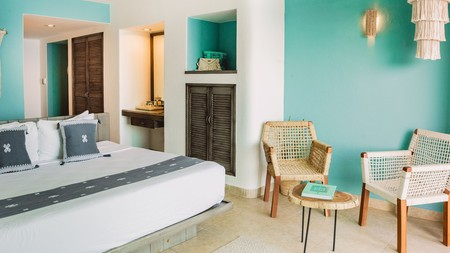 Choose this chic boutique bolthole if you're after a dream spot for swimming and snorkelling