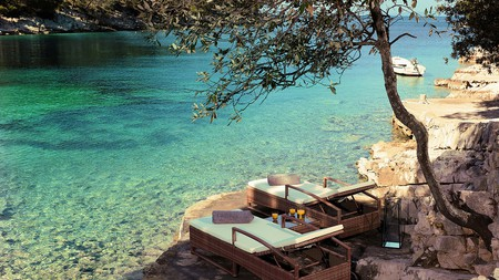 Many hotels in Croatia, such as Little Green Bay, offer their guests an authentic local experience