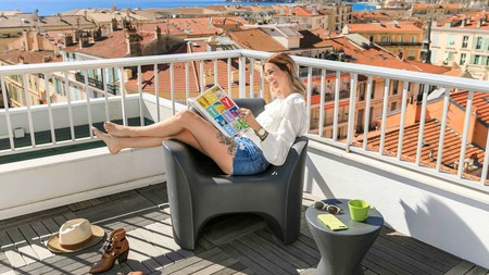 Kick back and enjoy the Mediterranean sunshine at the Ibis Styles in Menton