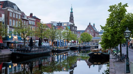 Traced with small canals and speckled with green parks, Leiden is a photographer's dream