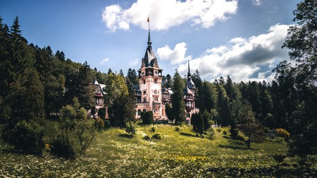 Peleș Castle is the former residence of the royal family