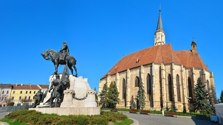 Visit St Michael's Church while you're exploring Cluj-Napoca