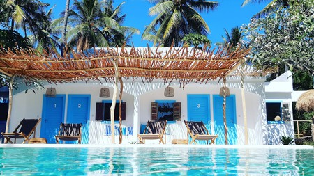 Koho Air Hotel is one of many fabulous hotels on Gili Air