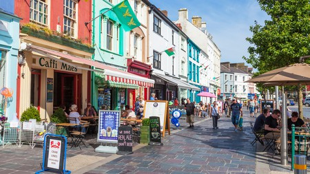 Over 80% of people in Caernarfon, Gwynedd, speak the Welsh language