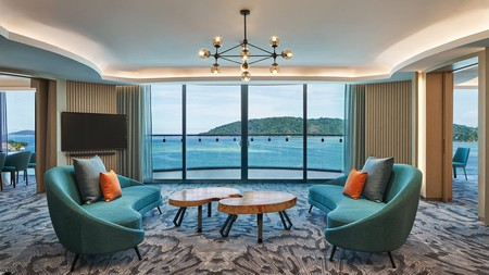 Le Méridien Kota Kinabalu is a five-star hotel with views to match