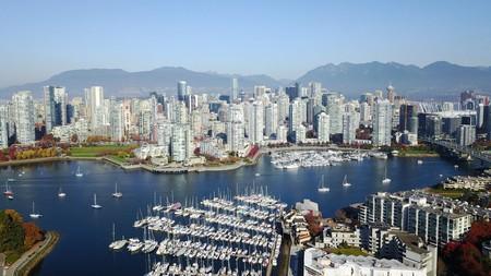 False Creek flows through the heart of Vancouver