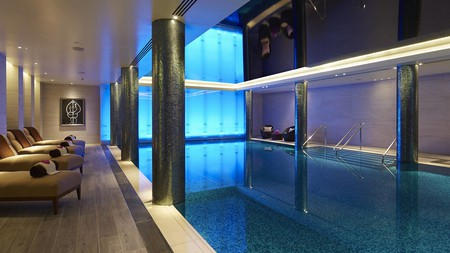 Some spa and wellness hotels in London have impressive pools