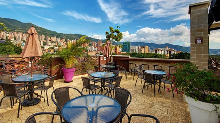 Start your trip in style from the rooftop bar of your hotel