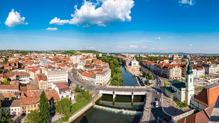Head to Oradea for castles and thermal spas