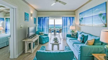 Enjoy ocean-view terraces at Maxwell Beach Villas, Barbados