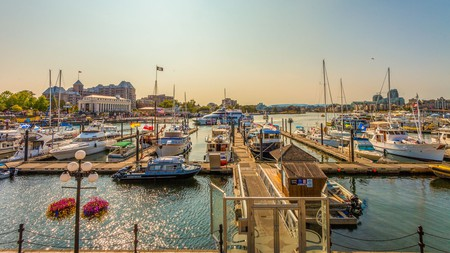 Victoria, Canada, is known for its picturesque harbor