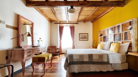 Quito's Old Town is full of original features, reclaimed furniture and retro artefacts
