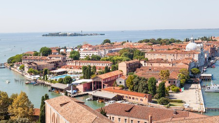 Treat yourself to some pampering at the Cipriani Hotel on the island Giudecca in Venice