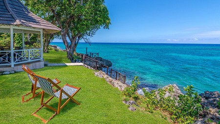 Enjoy the waterfront views from the villas at Prospect Estate, Jamaica