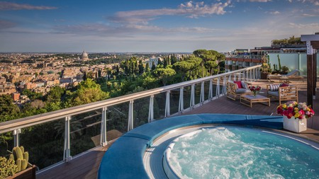 It's no surprise that Rome's best hotels offer spas fit for emperors