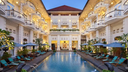 The Phoenix Hotel Yogyakarta is located in a colonial-era building constructed in 1918