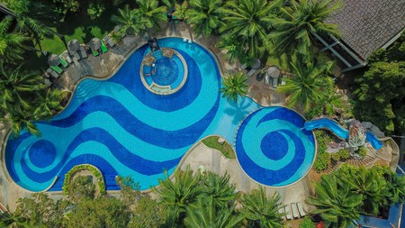Escape Pattaya's hot and humid weather in a hotel pool