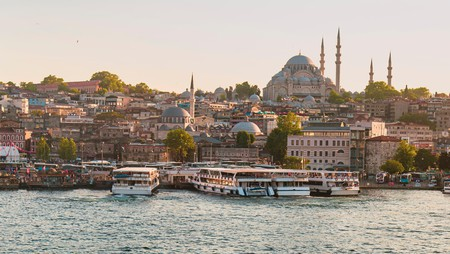 Settle in with a view over the wind-whipped Bosphorus strait