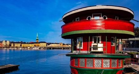 The Red Boat Hostel offers unique accommodation on the water in Stockholm, Sweden