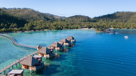 Choose between a hotel room or a traditional Fijian bure on the water, at these Fiji resorts
