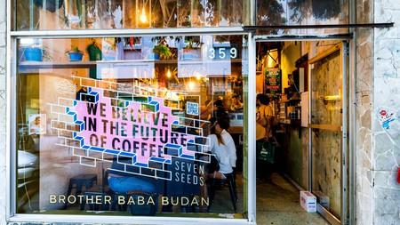 Melbourne is home to hundreds of independent cafes, including Broth Baba Budan
