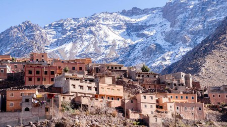 The towering Atlas Mountains are within easy striking distance of Marrakech