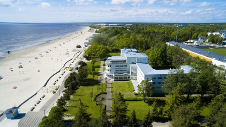Enjoy the beach, spa and wellness traditions of Pärnu from one of its best hotels