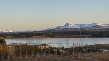 Choose a peaceful retreat with sweeping views of the Icelandic landscape