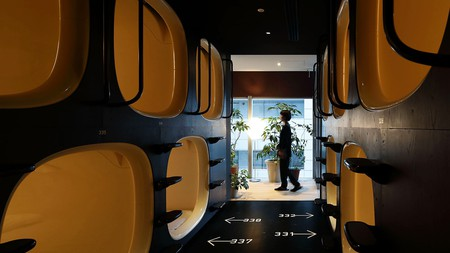 Capsule hotels provide private, budget-friendly accommodation options