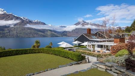 Matakauri Lodge's setting is magical, with views of Lake Wakatipu and the Remarkables