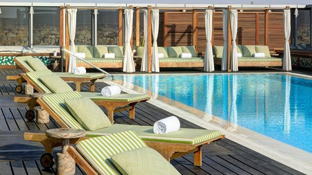 Stay at the Assila, and have access to a refreshing rooftop pool