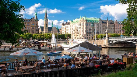 The island of Djurgården in Stockholm is a great place to enjoy a coffee