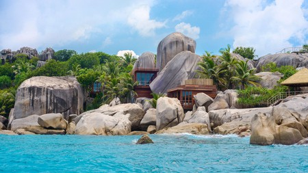 Six Senses Zil Pasyon is located on an unspoilt, ecologically protected island