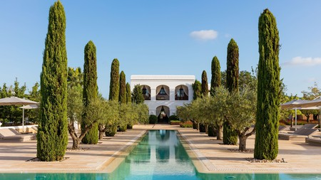 Surround yourself with sun-soaked fields, ancient olive trees and pine forests