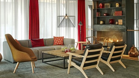 Sitting in a former furniture factory, Canopy by Hilton pays tribute to its past with custom-built furnishings
