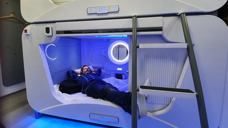 Sleep in a space-age pod at Capsule Hostels Tallinn