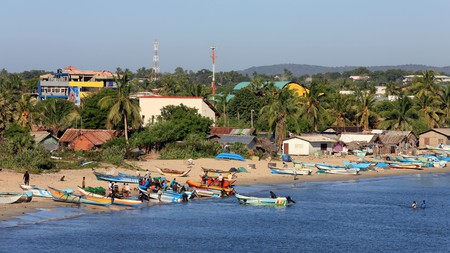 Visit Back Bay beach in Trincomalee to see the catch of the day being hauled off fishing boats