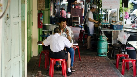 Bangkok is home to nearly 500,000 street-food stalls