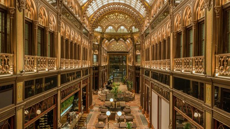 If you're seeking grandeur, stay at Párisi Udvar with its gilded cathedral-like atrium